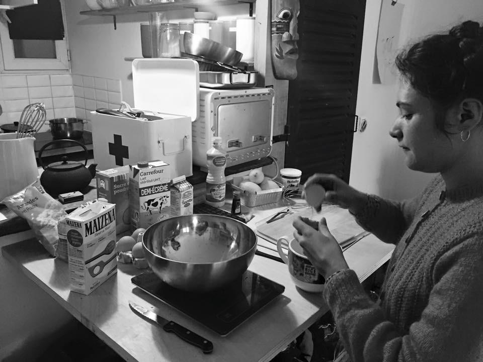 Morgane clarifie les œufs