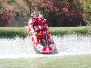 descenso del Segura en rafting