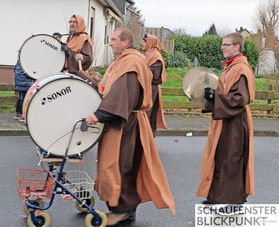 Oberdrees Karnevalszug 2018 Spielmannszug Echo Niederdrees