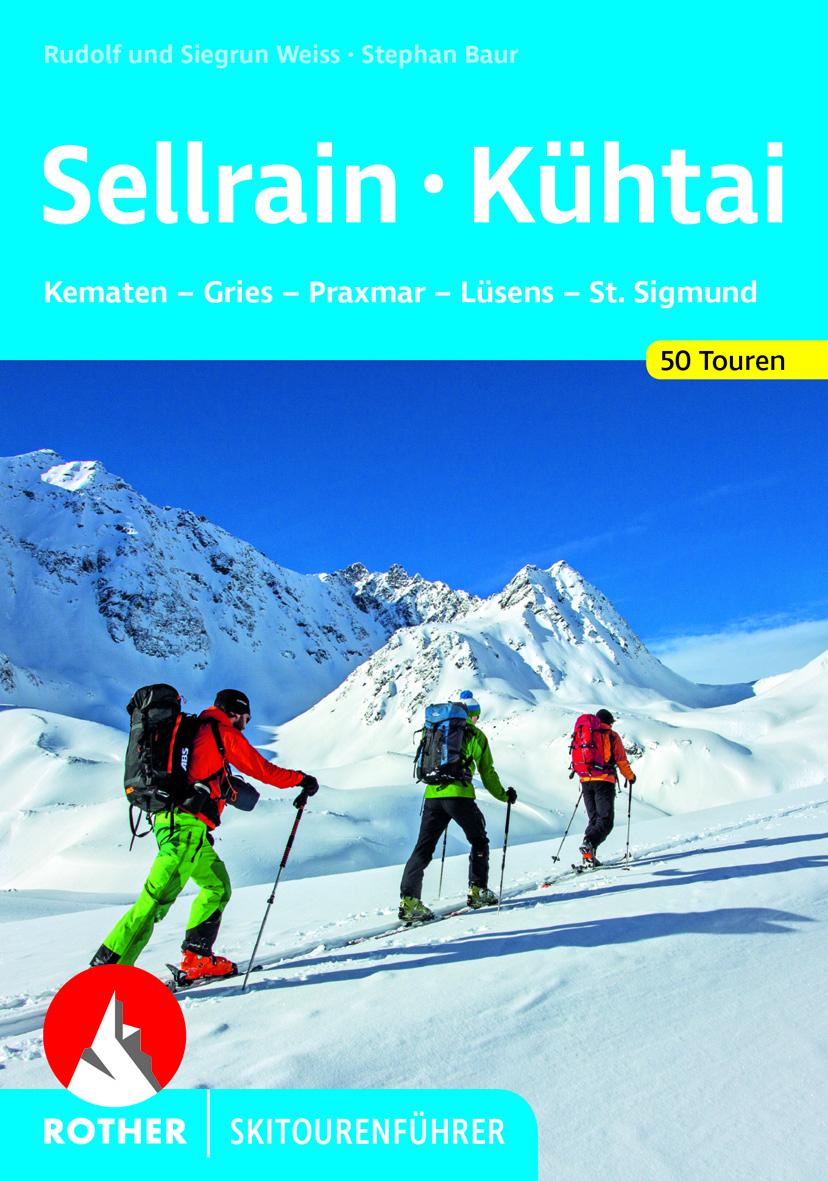 Skitourenfuehrer Sellrain und Kühtai