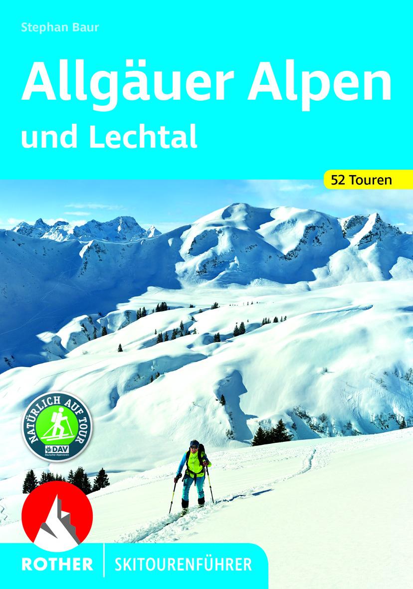Skitourenfuehrer Allgäuer Alpen
