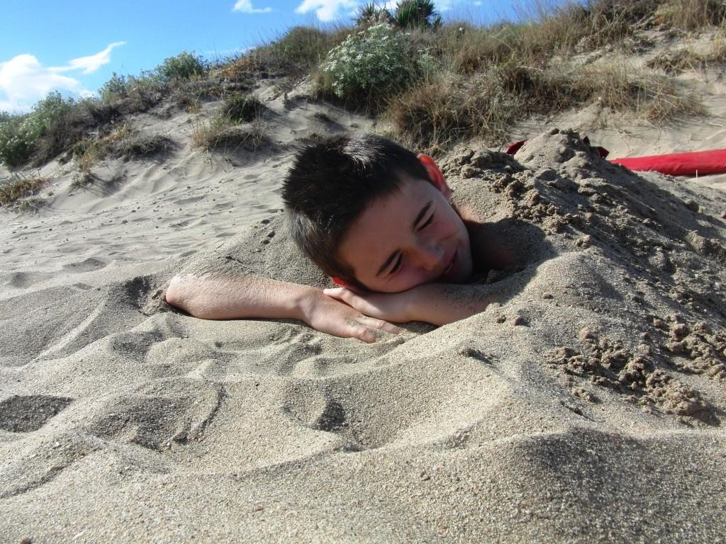 Strand in Serignan-Plage