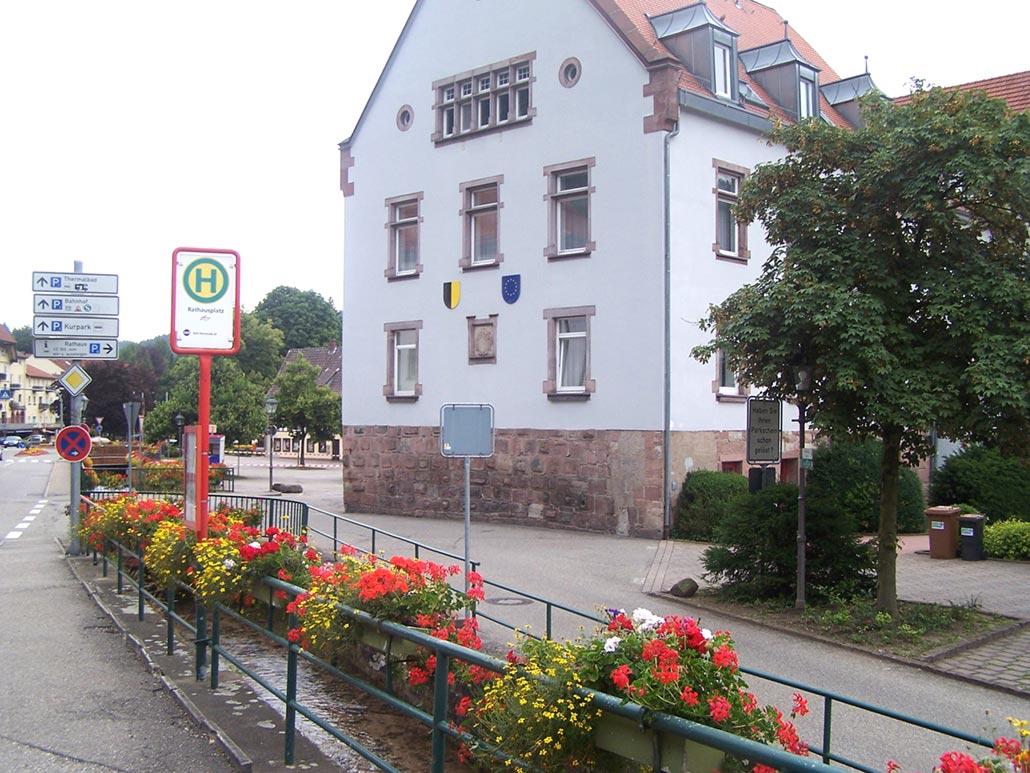 Rathaus von der Seite