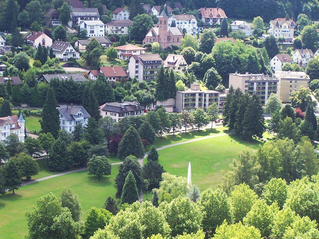 Aussicht vom Falkensteinfelsen