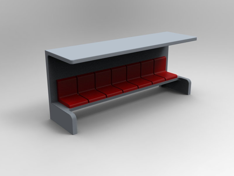 Seven seater dugout