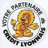 La mascotte du Crédit Lyonnais Un clin d'oeil à notre ancienne Banque.