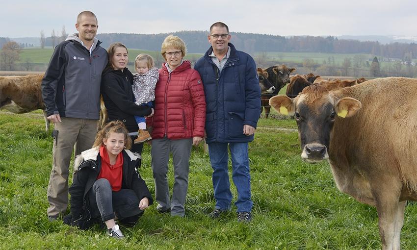 Familie Schuler, Drälikon, Hünenberg, 7. November 2017