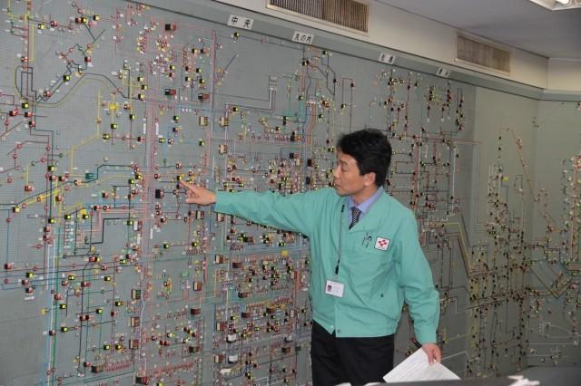 送電経路の説明