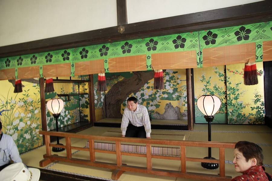 桃山文化の雅の世界、長谷川等伯の障壁画(日経新聞小説参照)