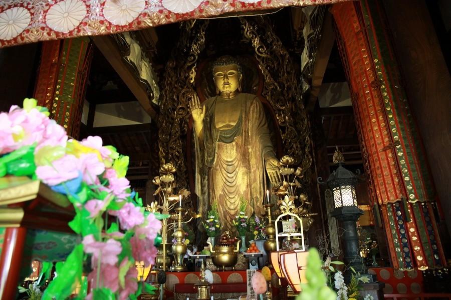 一本木の最大仏像 嫁いらず戒行寺大仏