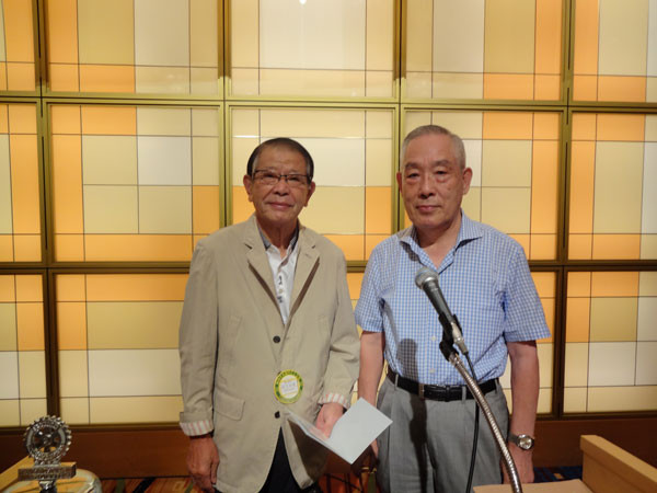 ロータリー米山記念奨学会より渡辺成剛会員に米山功労者賞(メジャードナー)が授与されました