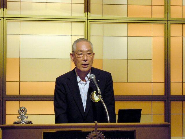 米山記念奨学委員会、豊田章二委員長