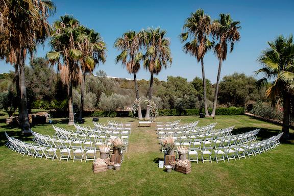 Wedding Ceremony at Finca Son Mir in Mallorca Spain