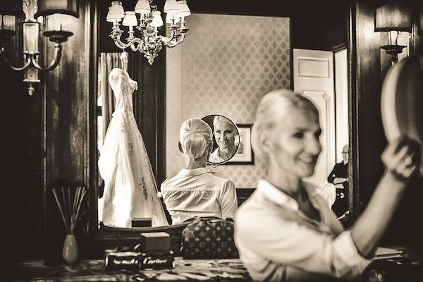 Braut-Getting-Ready-Hochzeitssuite