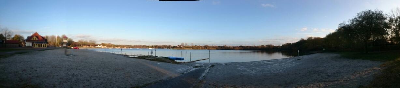 Panorama Herbstzeit See