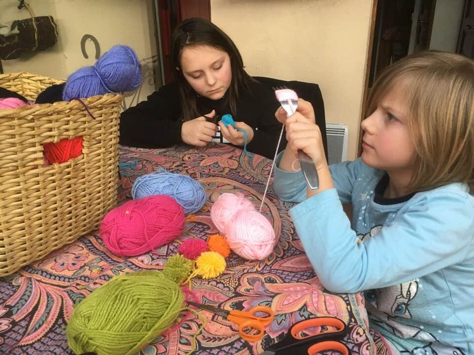 Avec la contribution de Lucy et Maéna, les petites filles de Sylvie