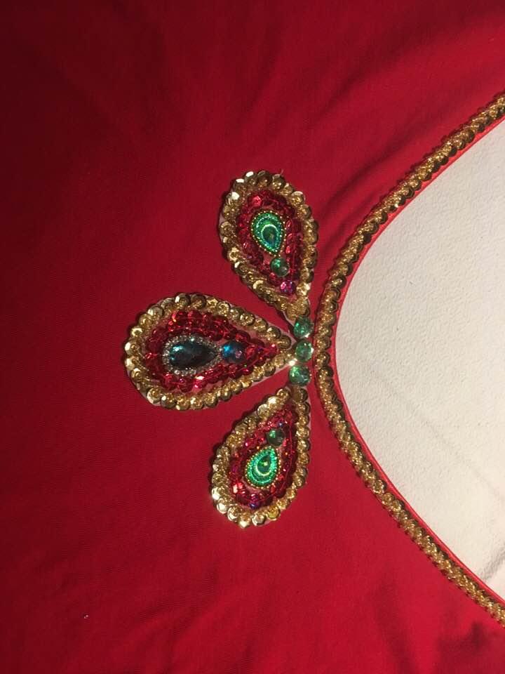 Nouveau projet de création pour des cholis indiens / Sylvie