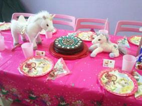 Geburtstagstisch Einhornparty