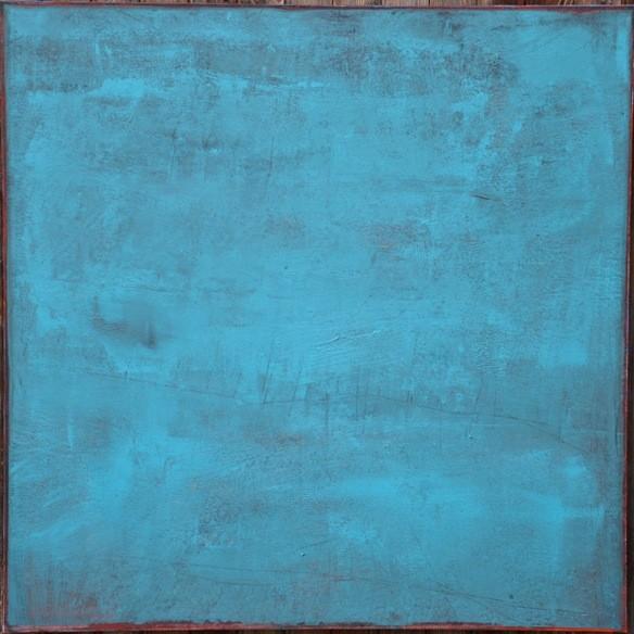 "Grande Dombes"" Elgi loun - acrylique sur toile 100x100x3"