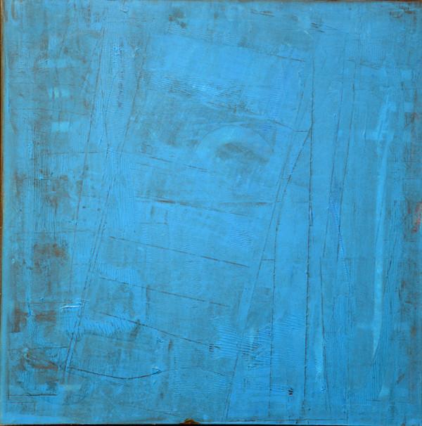 """""""Epure"""" Elgi loun - Acrylique sur toile - 80 x 80 x 3D"""