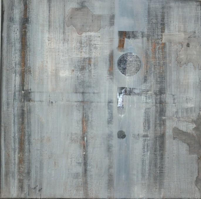 """LOL"" Elgi loun - Acrylique sur toile - 80x80x3"