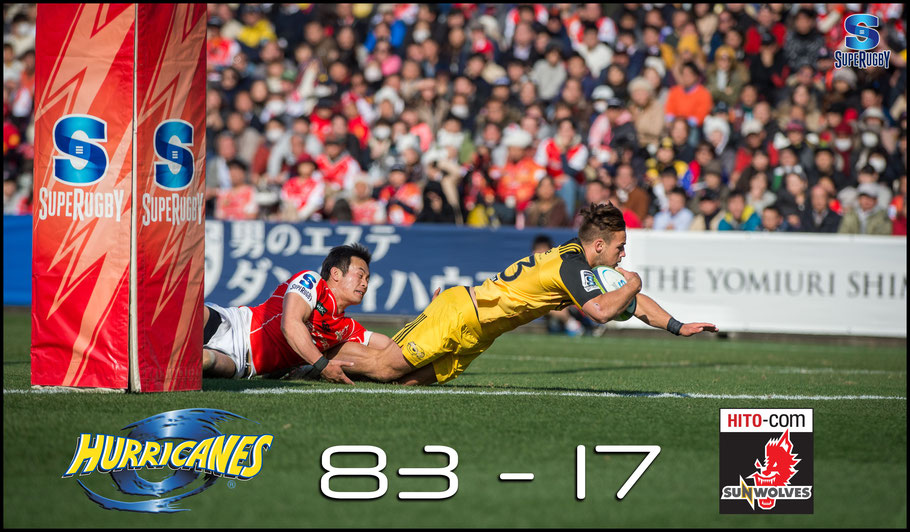 Heavy defeats like this one to Hurricanes provide fuel to those who wish to see Sunwolves cut from Super Rugby