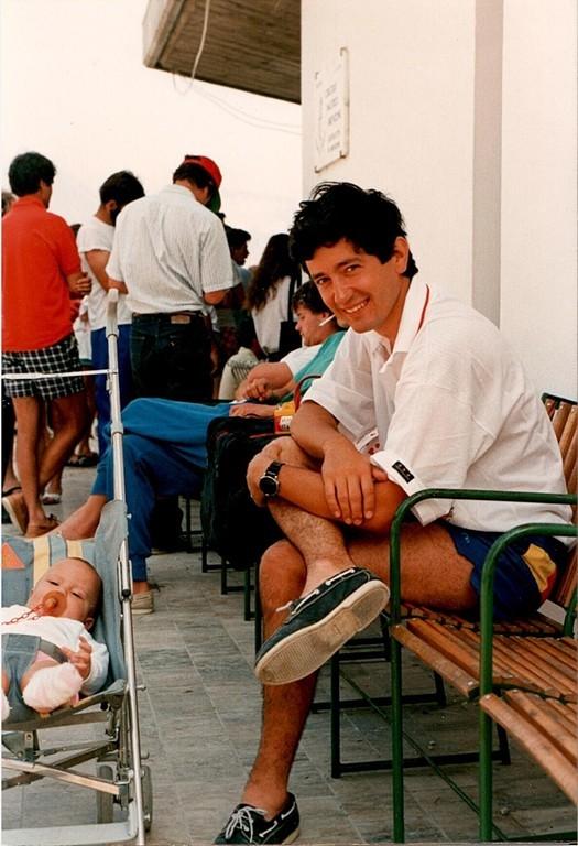 Paolo Monosilio con prole