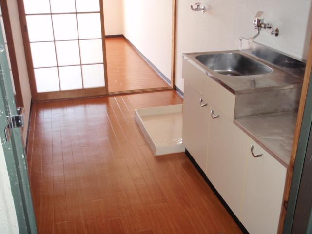 広めのキッチン