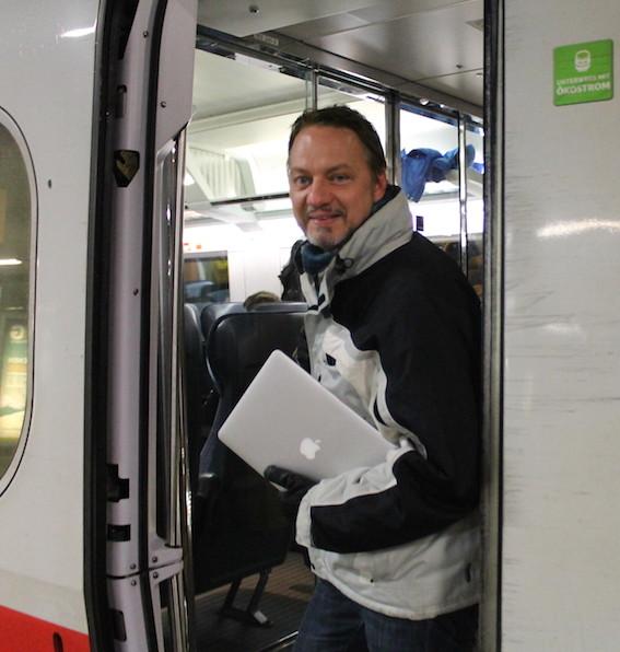 applesupporter.de unterwegs im ICE, schnell, sicher, modern, umweltbewusst, entspannt und preiswert – mit BahnCard100