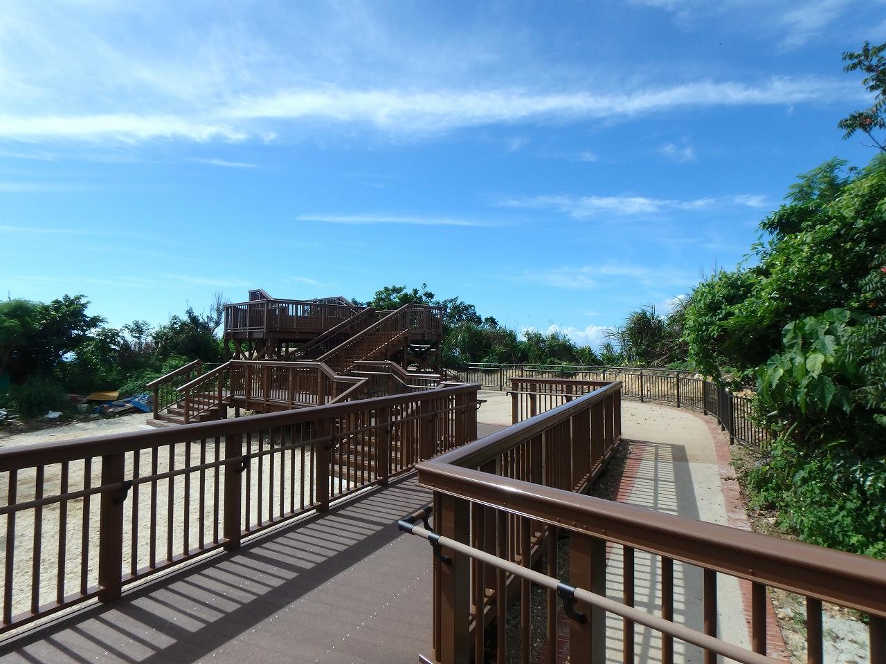 中城公園整備工事(沖縄県北中城村)