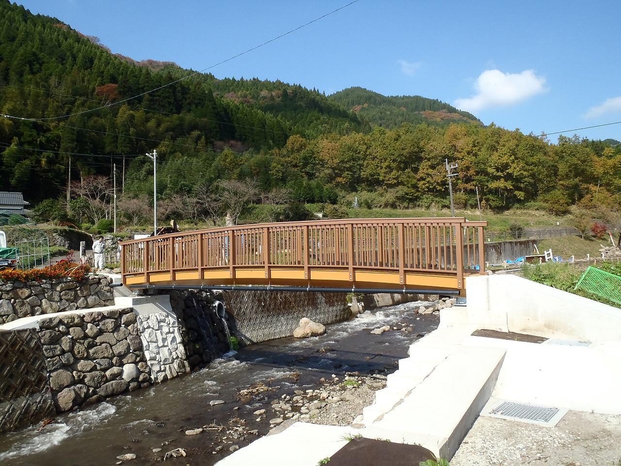 阿蘇災害復旧FRP連絡橋(熊本県阿蘇市)