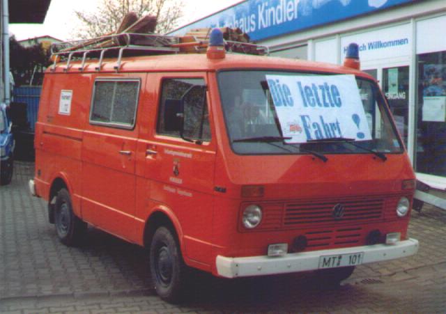 1978 - 2000: TSF (VW LT31)