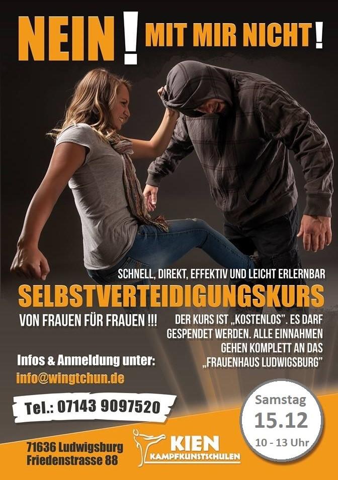 Frauen Selbstverteidigung Ludwigsburg