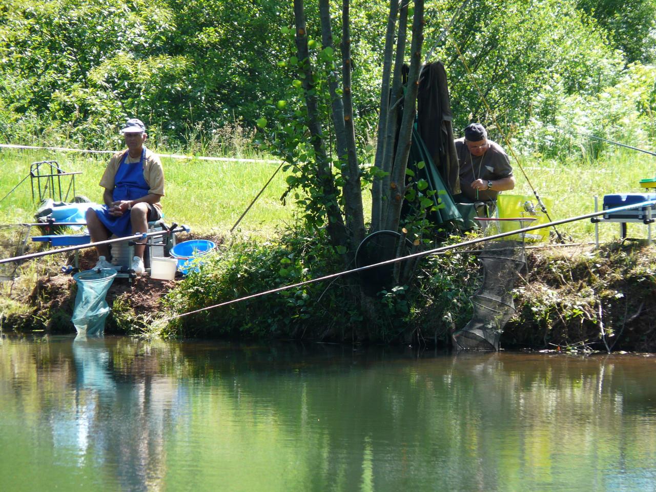 Pêche au bord du lac