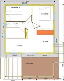 Plan chalet Mansois