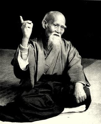Le fondateur, MORIHEÏ UESHIBA.