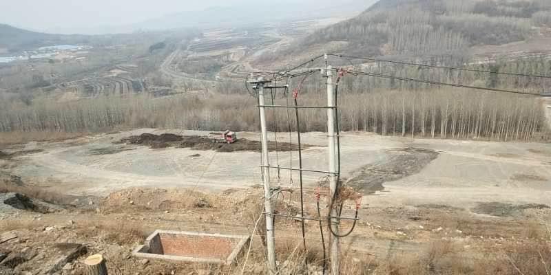 #中国発電所建設現場
