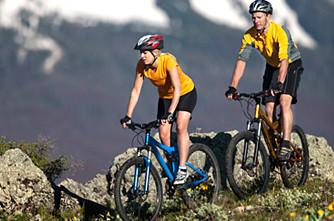 Mountainbike und Radltouren