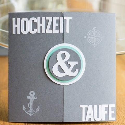 eine karte zur traufe - card&photoart bytanja, Einladungen