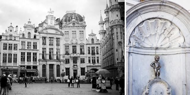 """""""Manneken Pis"""", die Sehenswürdigkeit in Brüssel! Fast wären wir dran vorbei gelaufen..."""