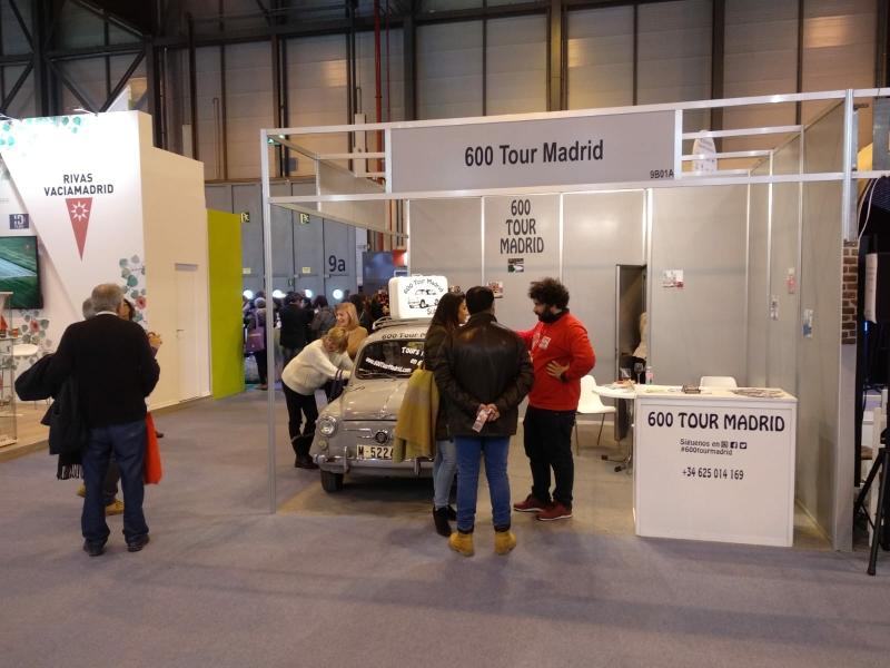 Seat 600 tour Madrid en FITUR