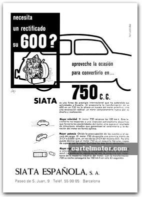 motor seat 600 anuncio