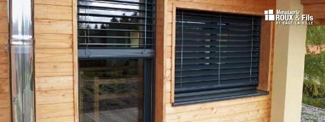 Fenêtre et porte mixte bois et alu haut de gamme