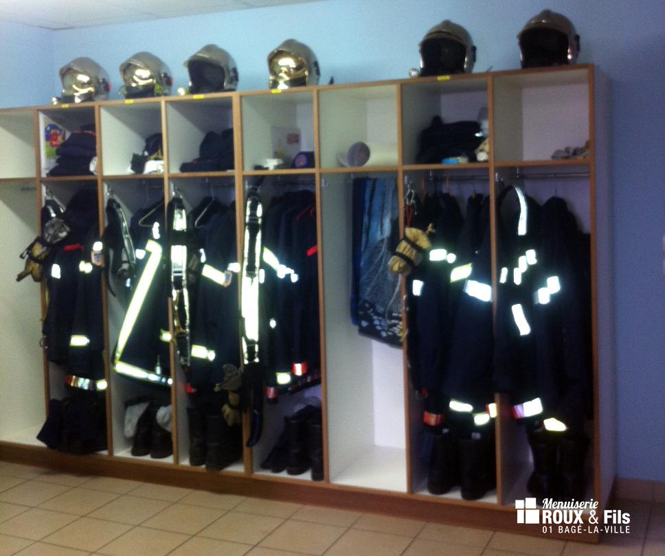 Menuiserie Roux et Fils, agencement pour les professionnels pompier