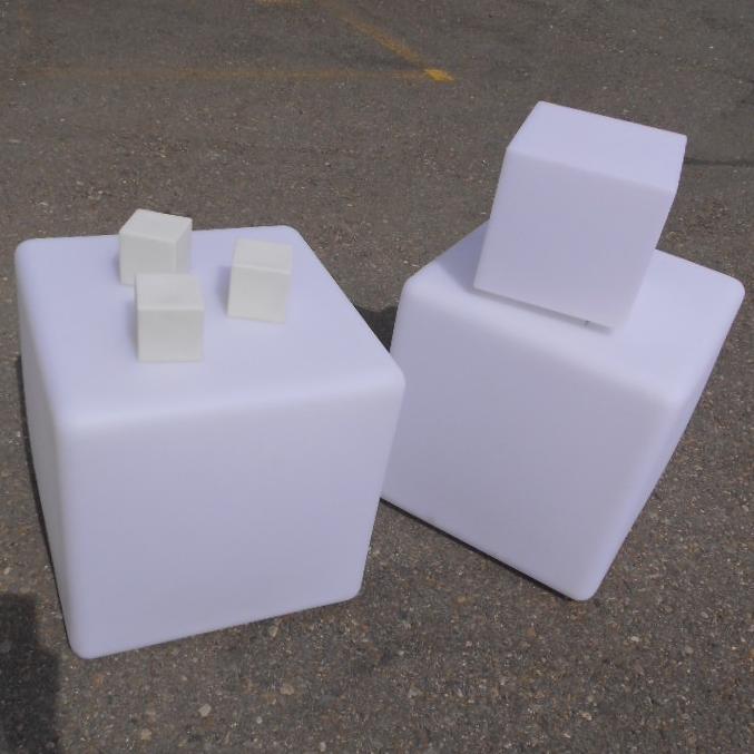 Leucht-Cubes diverse grössen 094421
