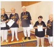 Beim Sportfest der Generationen waren Jüngere gemeinsam mit Älteren aktiv.