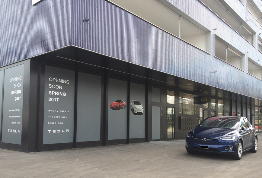 Schlieren 26.02.2017 (Tesla Servicecenter)
