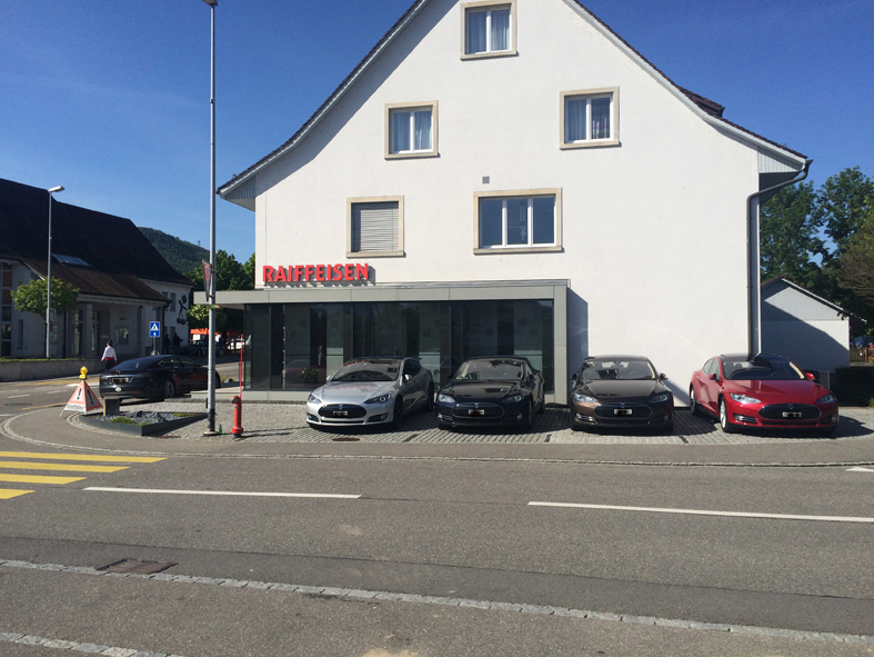 Gipf-Oberfrick 21.05.2016 (E-Mobility Tag, Einweihung Ladestation Raiffesenbank)