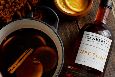 Mulled Wine with Negroni