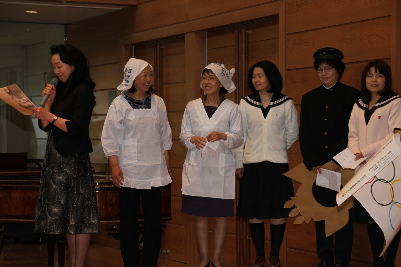 加藤先生とのワークショップから生まれた 川上村を紹介するパフォーマンス